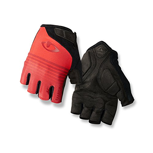 Giro Jag Glove - Men's Red 6 String, (Short Finger Bike Gloves)