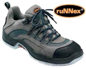 ruNNex Sicherheitsschuhe 5200-38 - S2 - Nubuk-brown