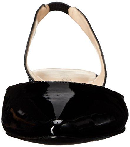 Nine West Werein Ballet sintética plana Black