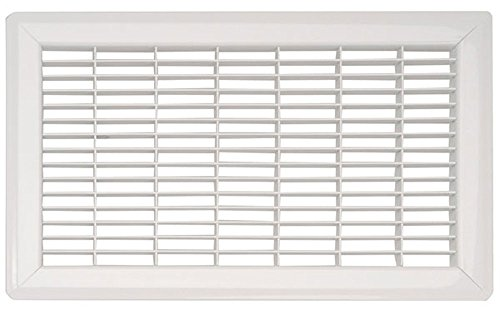 Grills Registers Floor (White Heavy Duty Steel Commercial Floor Grill - (15 sizes available) (8 x 10))