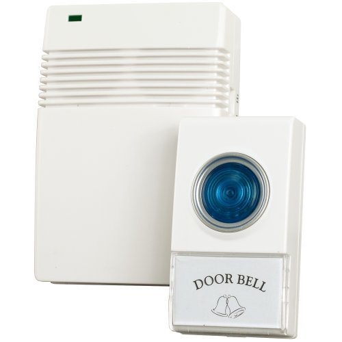 Voye 72-20488 Wireless Remote Control Doorbell with 10 Different Chimes by Voye by Voye
