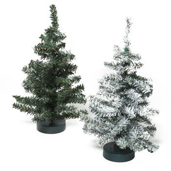 Fake Christmas Tree.12 Inch Fake Christmas Tree Canadian Pine Green Or Snow Covered