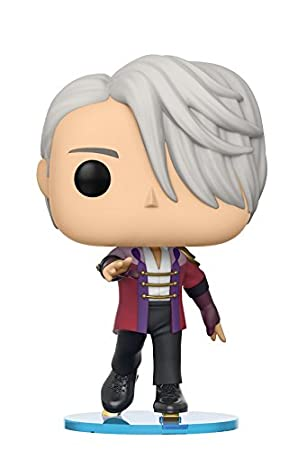 Funko Pop Anime Yuri On Ice Victor Skate Wear Collectible Vinyl Figure