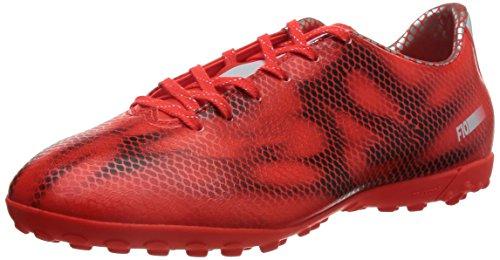 adidas F10 Turf Herren Fußballschuhe Rot (Solar Red/Ftwr White/Core Black)