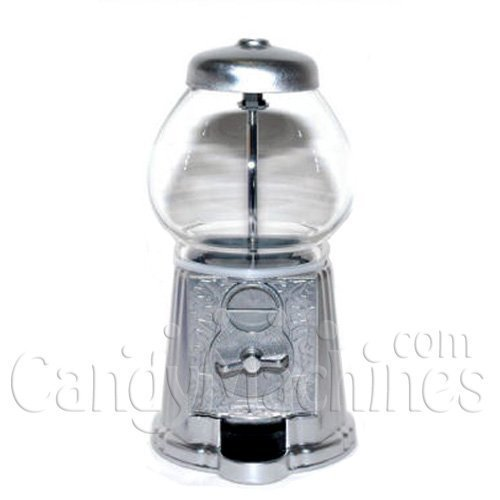 Junior Gumball Machine (Junior Antique Gumball Machine (Silver 12) by Carousel)