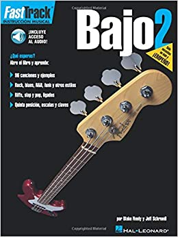 Amazon.com: FastTrack Bass Method 2 - Spanish Edition (Fast Track (Hal Leonard)) (0073999957280): Jeff Schroedl, Blake Neely: Books