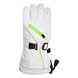 Swany Women`s X-therm Glove, S, Whitelime