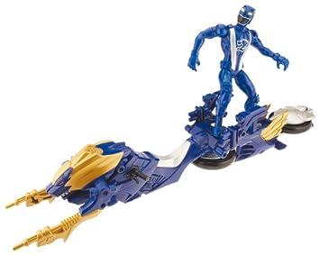 Bandai Power Rangers RPM Turbo Cycle - Figura y vehículo: Amazon.es: Juguetes y juegos