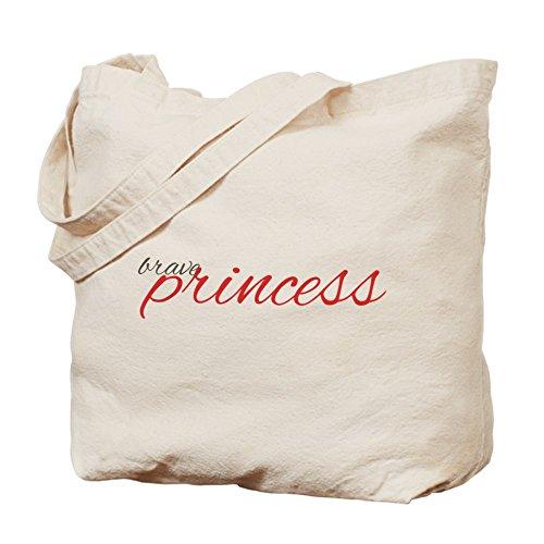 CafePress–Brave Princess bellarke cita–Gamuza de bolsa de lona bolsa, bolsa de la compra