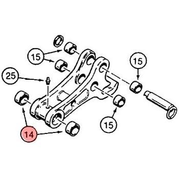 Amazon Com D127172 New Case Backhoe Coupler Bushing 580k 580sk 580l