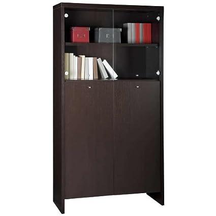 Libreria Vetrina Ufficio.Composad Libreria Vetrina Moderna Mobile Ufficio Studio