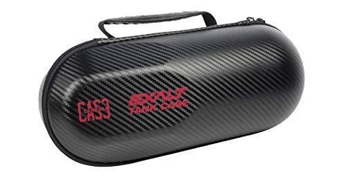 (Exalt Paintball Carbon Series Tank Case (Black - Red))