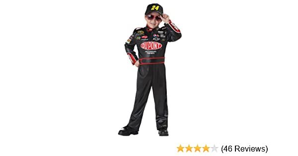 120486dc Amazon.com: California Costumes Nascar Jeff Gordon Child Costume, Large  Plus: Toys & Games