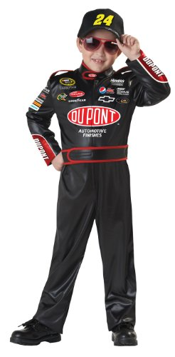 Nascar Costumes Halloween Racing (California Costumes Nascar Jeff Gordon Child Costume, Medium)
