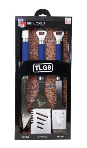 NFL Houston Texans Grill Tools Set (3-Piece)