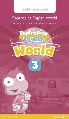 Poptropica English American Edition 3 Teacher's Edition Online World Access Card pdf epub