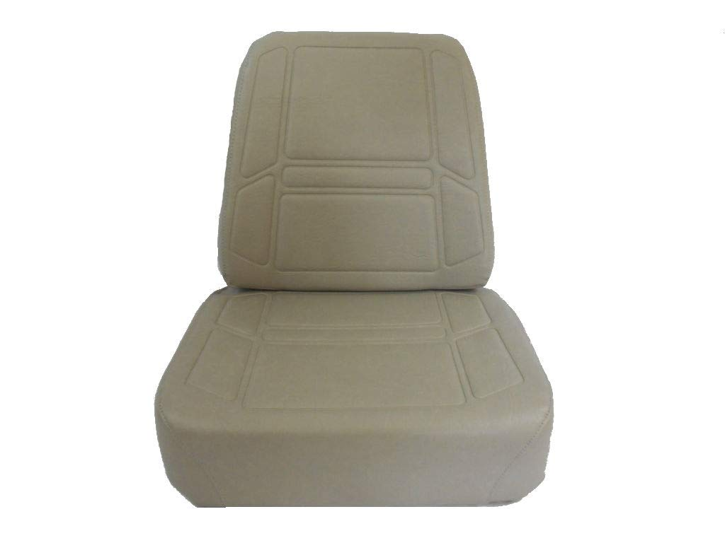 Seats, Inc EXMARK, Toro, Replacement Gray Cushion SEAT Set Extra Thick Bottom Cushion #ZB