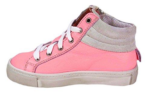 ROSAPOR edler Lederchuck Momino handgearbeitet Pink