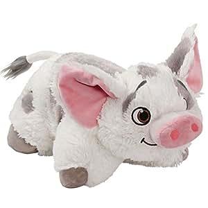 Amazon.com: Pillow Pets Disney Moana - P ua Stuffed Animal Plush Toy Plush: Toys & Games