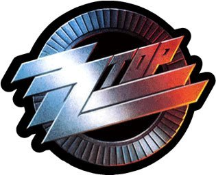 zz top sticker - 1