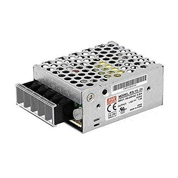 MeanWell Fuente de alimentaci/ón Meanwell Modelo LRS-150-24 150W 24V Transformador Switching Mean Well NO resistente al agua IP20 para Tiras LED KingLed c/ód.1987