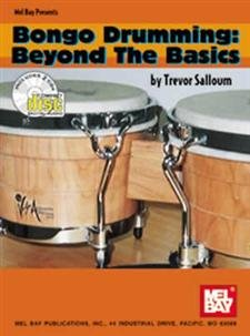 World Music Bongos - Mel Bay Bongo Drumming/Beyond the Basics Book/2 CD Set