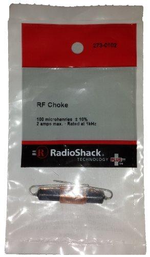 (RadioShack® 100 µH RF Choke)