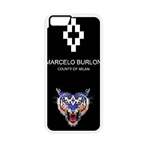 iPhone 6 Plus 5.5 Inch Cell Phone Case white MARCELO BURLON LOGO FDHFGHFG850218