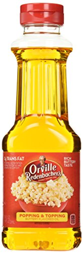 Orville Redenbacher Butter Flavor Popping Oil 16 Oz (Best Oil For Popping Popcorn)