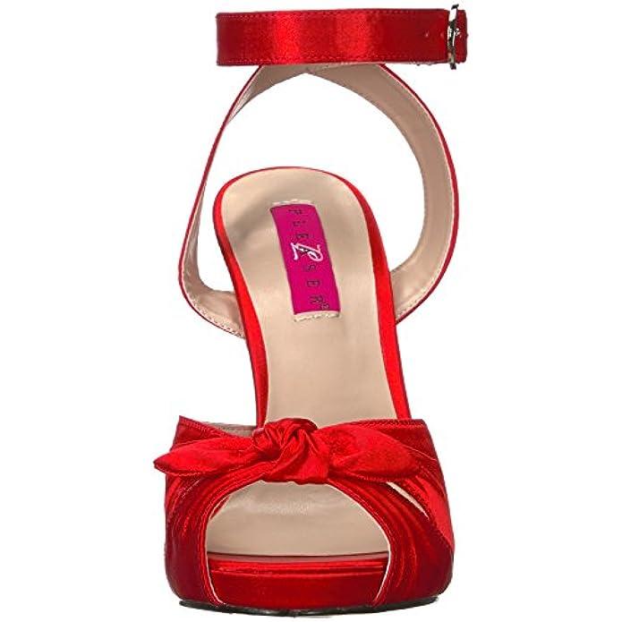 Pink Eve-01 Pleaser Label Con Plateau E Sandali Da Scarpe Donna Borse