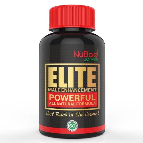 Elite Male Enhancement - augmente la testostérone et Vitalité Homme - Supercharge Sex Drive Libido et de l'énergie - Prise en charge de la masse musculaire et de flux sanguin - Puissant Formule All Natural Ingredients qualité Premium - améliorer votre san