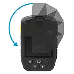 R-Tech HD 1080P Infrared Night Vision Police Body Camera Security IR Cam with 32GB Built-in Memory