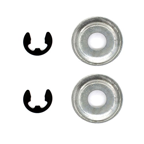 AISEN 2 sets Clutch Washer E-clip for Stihl 017 018 021 023 025 026 MS170 MS180 MS210 MS230 MS240 MS250 MS260 MS290 MS310 MS340 MS360 MS390 - 019t Stihl Chainsaw
