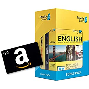 Rosetta Stone Bonus Pack (24 Month Subscription + Lifetime Download + Book Set)