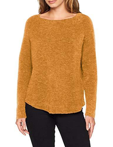 Donna Knit Giallo Basic mustard Maglione Alpaca 350 Gold Noa qBw6REIaq