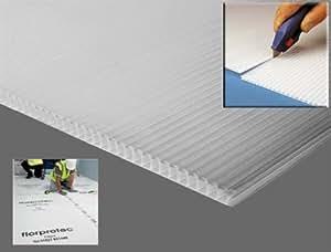 Amazon Com 10 X Correx Black Corrugated Plastic Floor