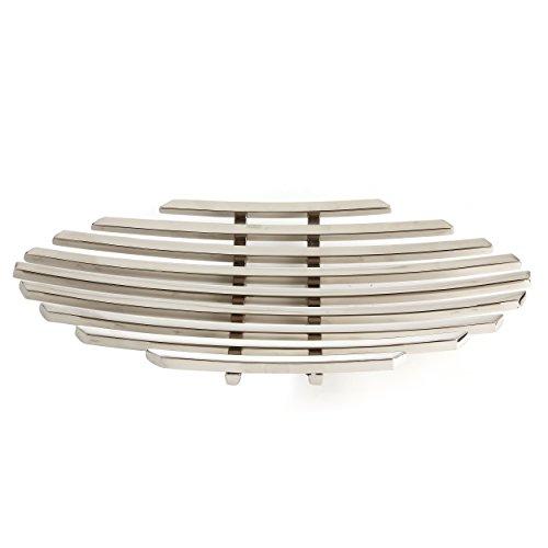 Elegance Stainless Steel Beam Long Platter