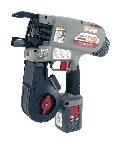 MAX RB655 Rebar Tying Tool Kit, 9.6V, 16 ga. -