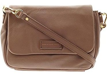 Marc Jacobs Too Hot To Handle Lea Messenger Bag Crossbody in Praline Brown