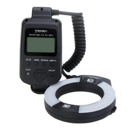 (YongNuo YN-14EX TTL Macro Ring Lite Flash Light for Canon EOS DLSR Camera)