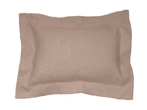 Belle Epoque Enchantment Boudoir Sham, Toffee (Boudoir Pillow Bella)
