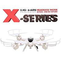 Arshiner MJX X400 RC Quadcopter Drone with C4005 WiFi Camera FPV 3D Roll Headless Mode 2.4GHz 6-Axis Gyro RTF (White)