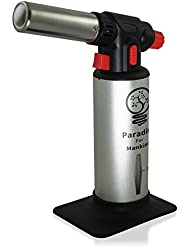 Best Professional Blow Torch for the Chef, the Magic Behind Party Centerpieces, the Torch Lighter for Culinary Arts, Includes Recipes for the World's Simplest Creme Brulee and 100 Delicious Cocktails