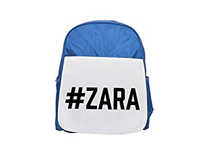 Zara Printed Kid s Blue Backpack, Cute de mochilas, Cute Small de
