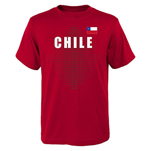 Outerstuff World Cup Soccer Chile Mens One Team 2018  Tee  Red  Mens Large