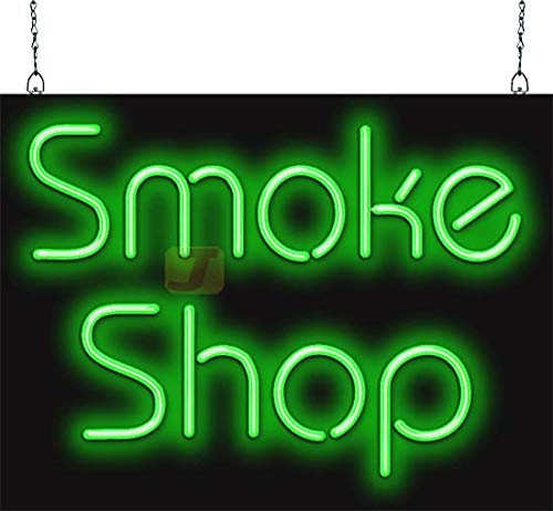 (Smoke Shop Neon Sign)