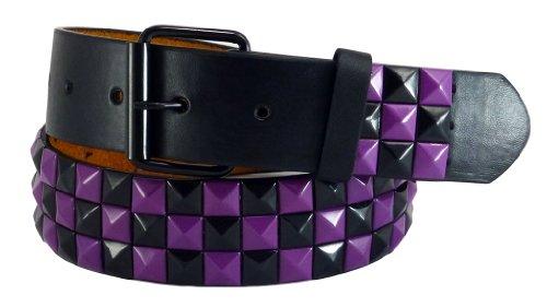 Purple Stud Belt - 1