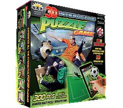Interactive Puzzle Game 3D Soccer Free App by popar