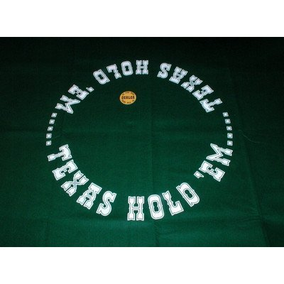 Texas Hold'Em Layout by Worldwise Imports