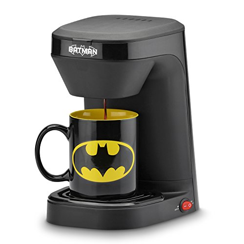 DC Batman 1-Cup Coffee Maker with Mug